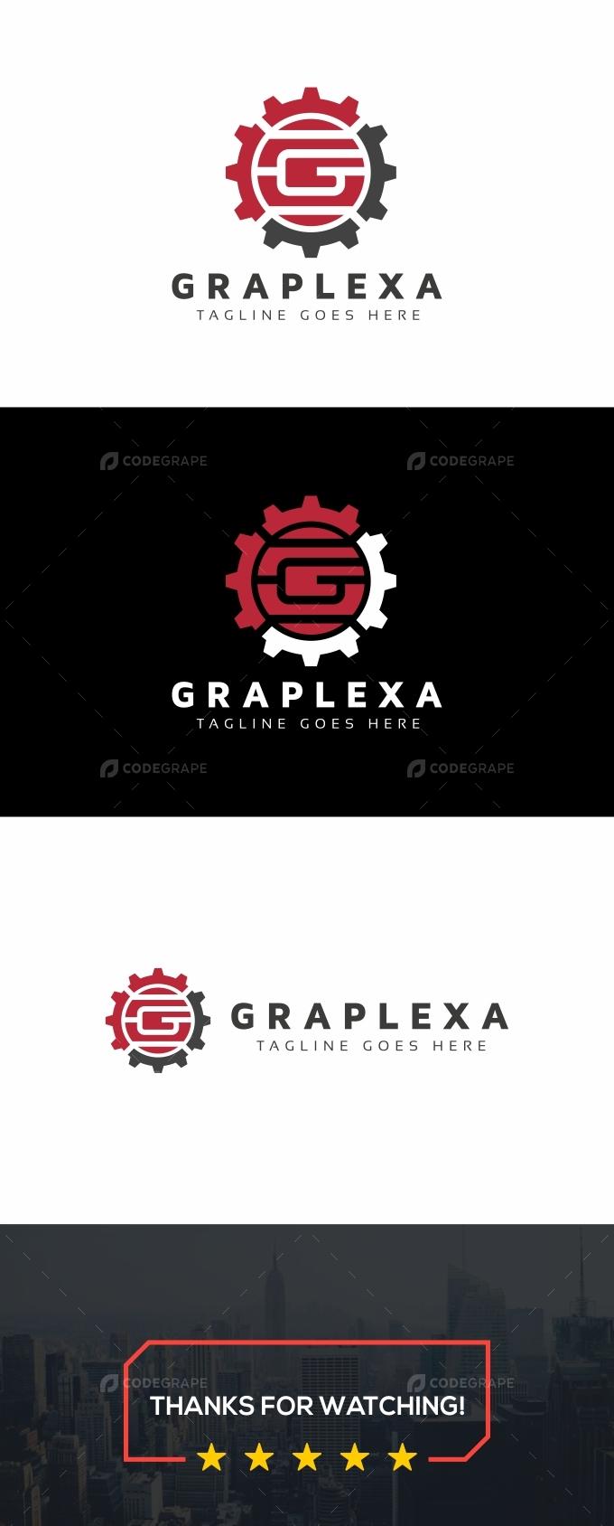 G Letter Gear Logo