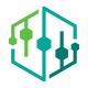 Dna Hexagon Logo