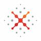 X Letter Point Logo