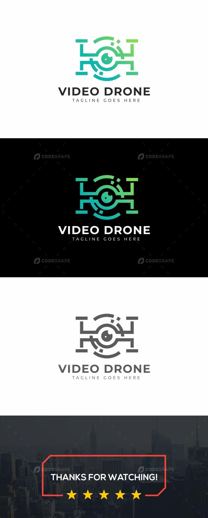 Video Drone Logo