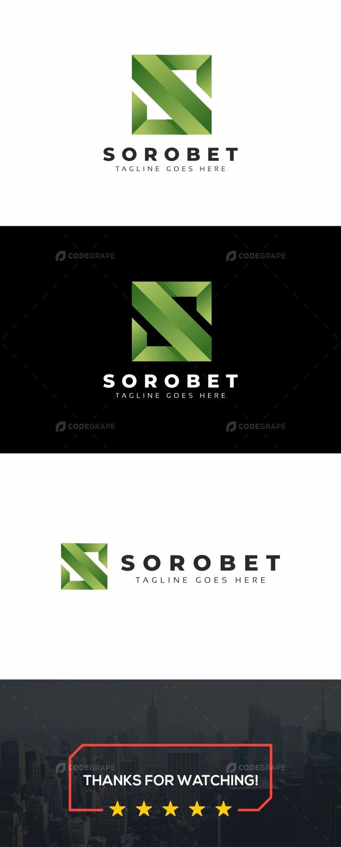 Sorobet S Letter Logo