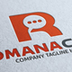 Romana Chat Idea R Letter Logo