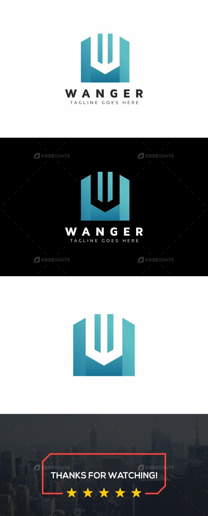 Wanger W Letter Logo