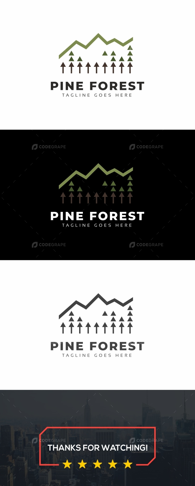 Pine Forest Logo