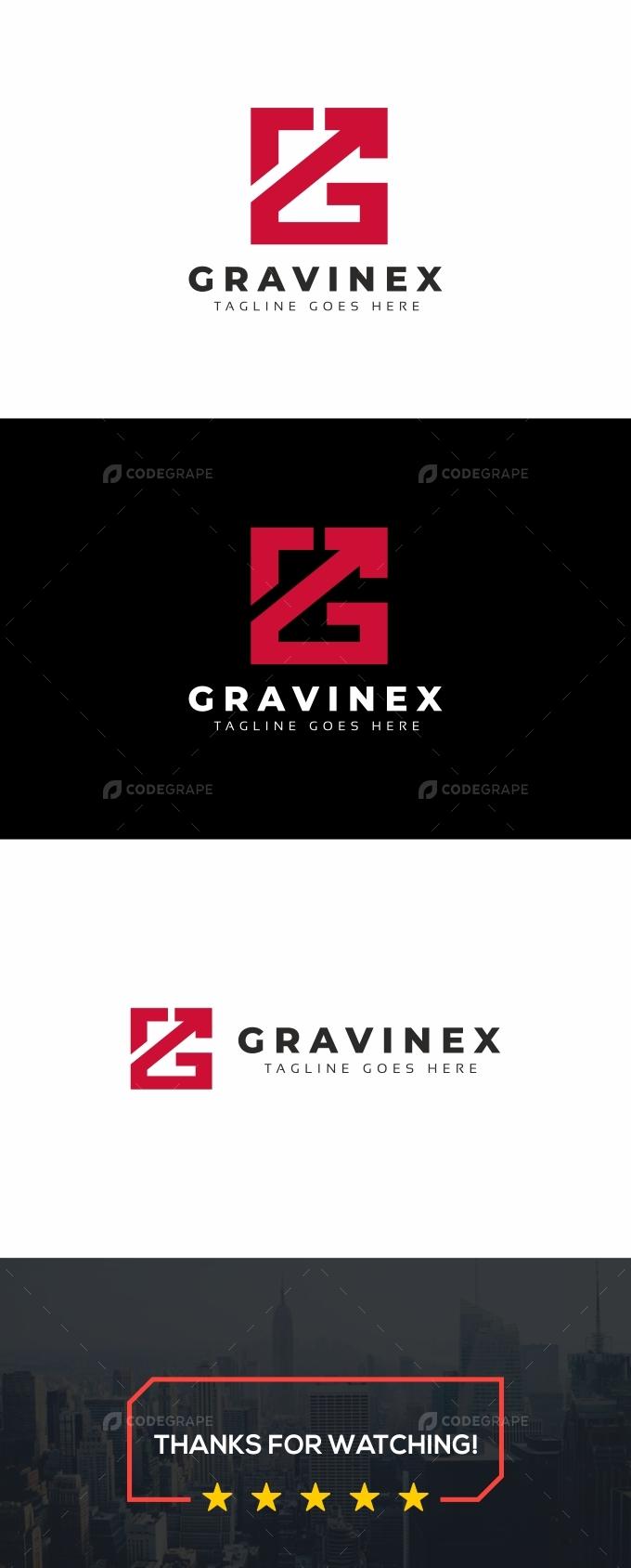 G Letter Arrows Logo