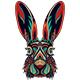 Rabbit Zentangle