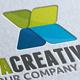 Xenta Creative Media X Letter Logo