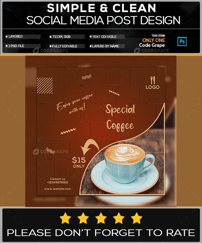 Unique Social Media Post Design