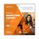 Corporate Digital Marketing Social Media Post Template