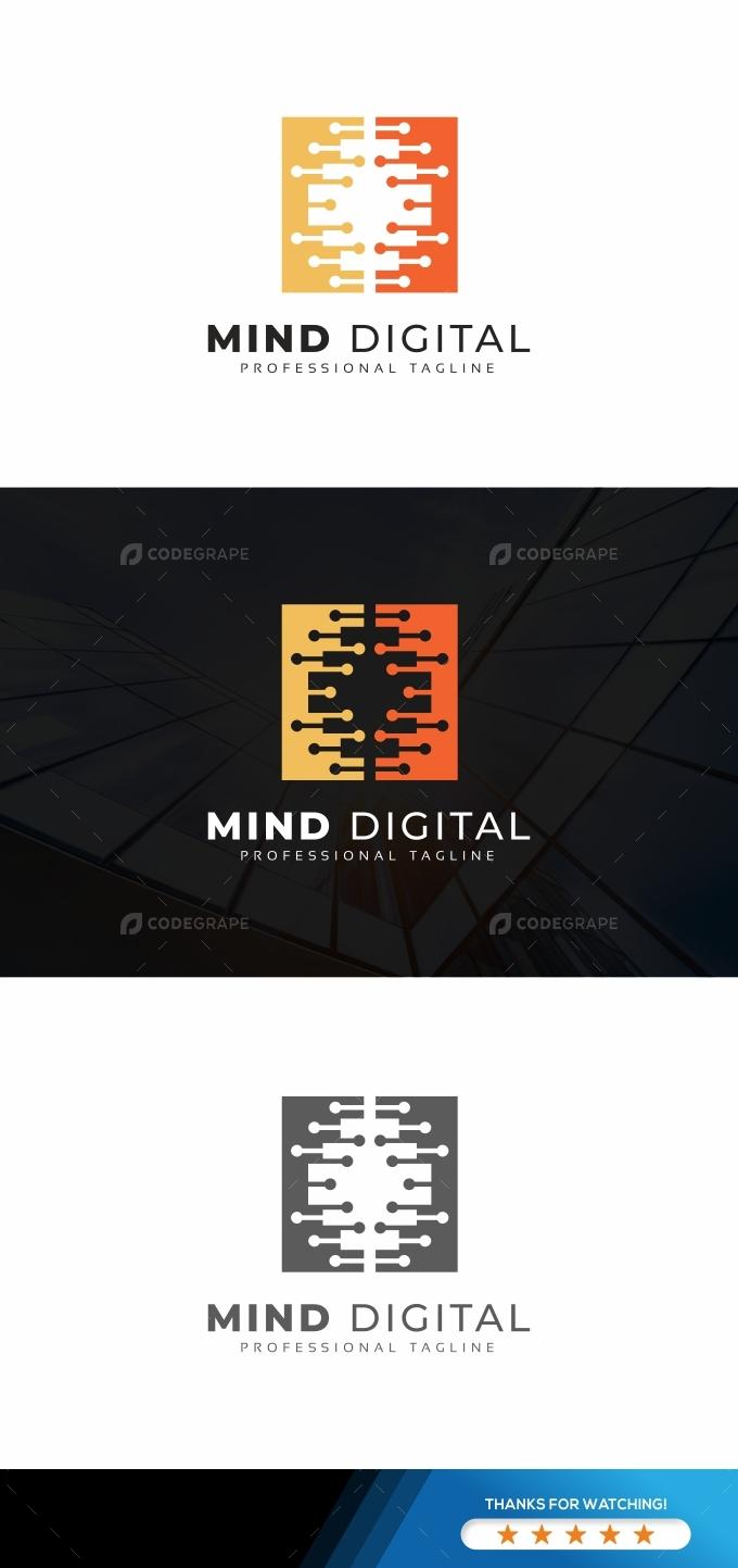 Mind Digital Logo