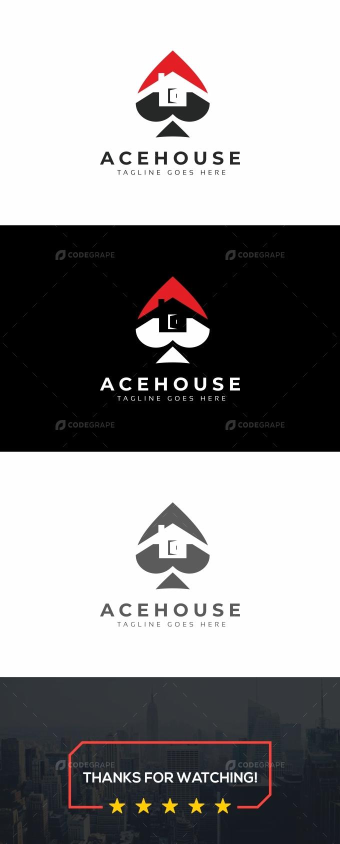 Ace House Casino Logo