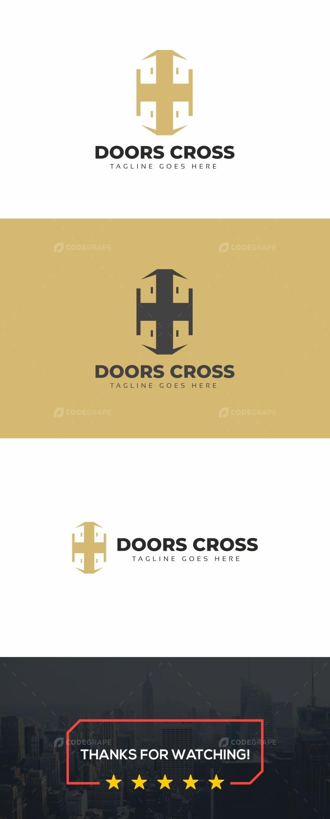 Doors Cross Logo