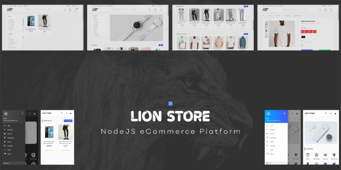 LION STORE - Online Shopping Platform
