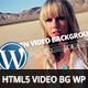 HTML5 Video Background WordPress Plugin