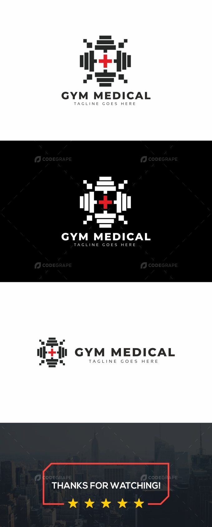 Gym Medical Logo