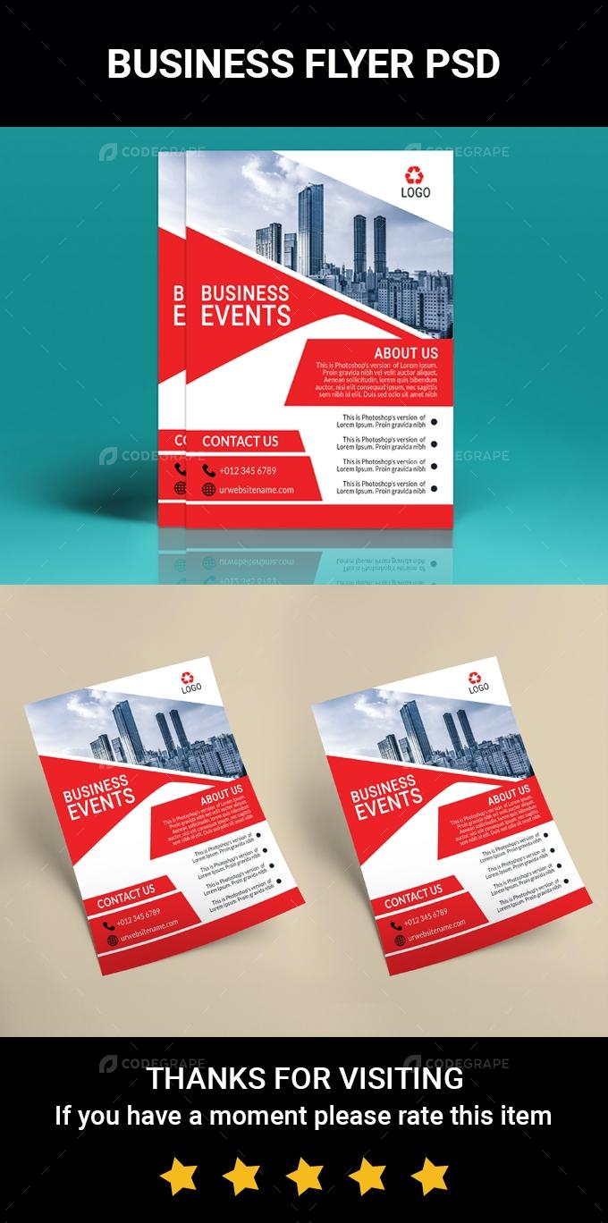 Business Advertisement Flyer