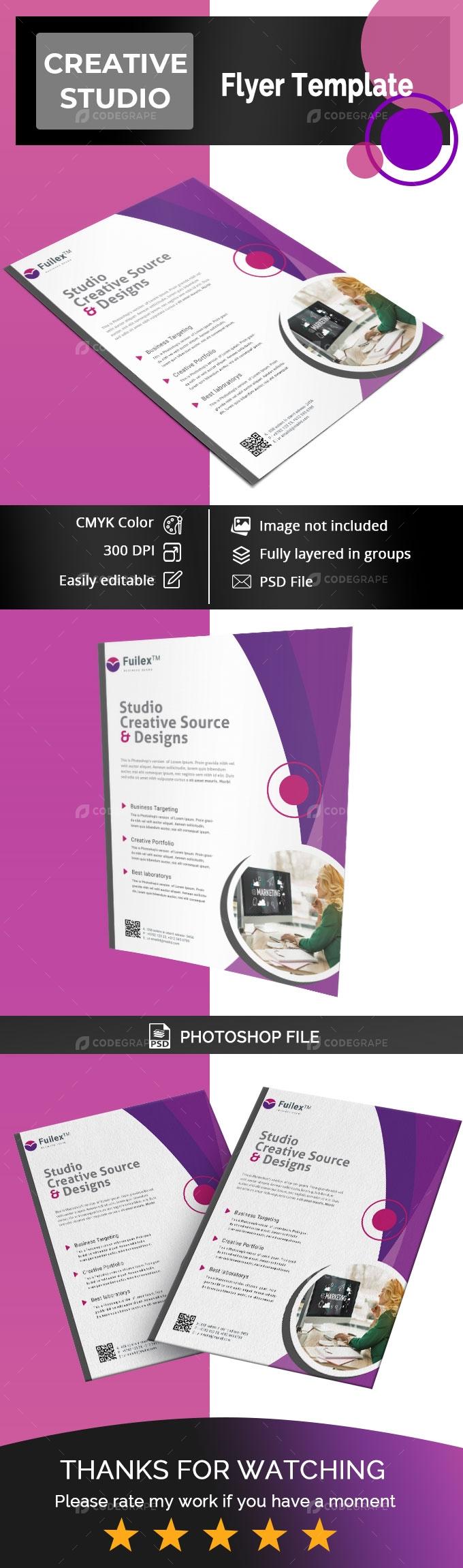 Creative Studio Flyer