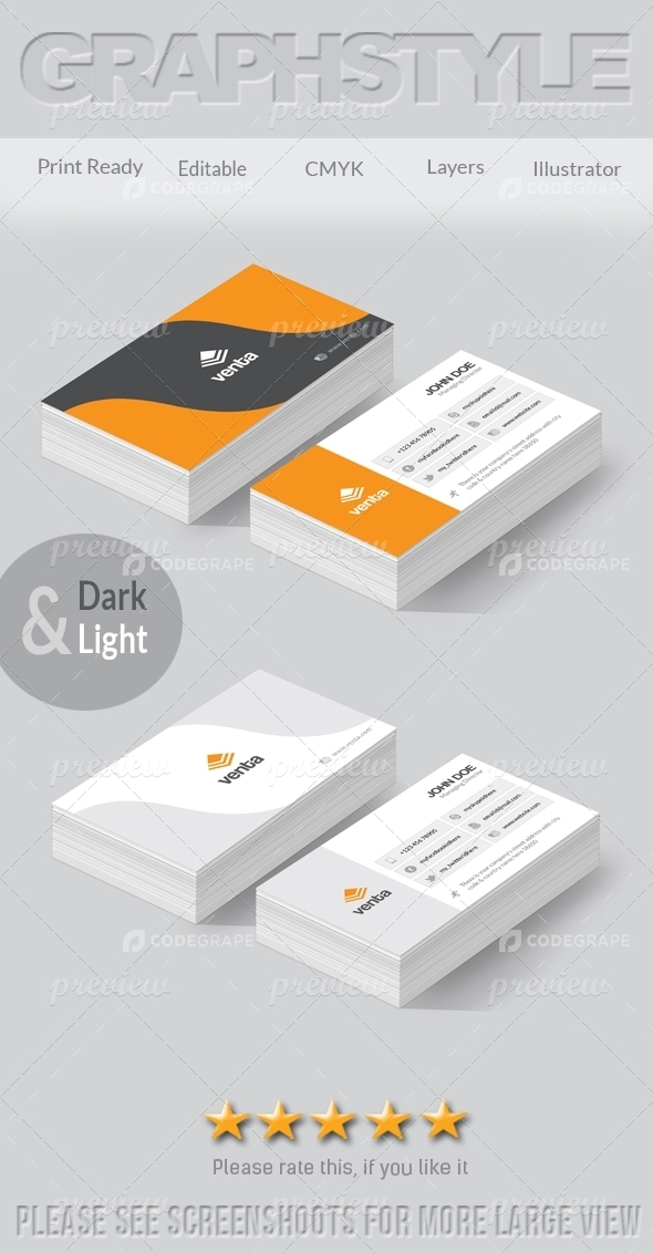 Venta Creative Business Card
