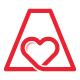 Letter A Love Logo