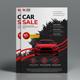 Corporate Car Sale Flyer