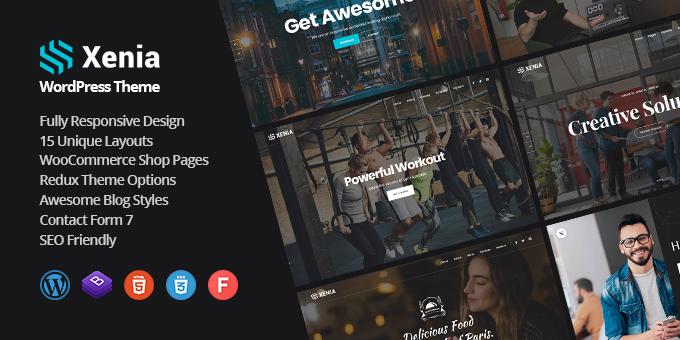 Xenia - Creative Multipurpose WordPress Theme