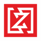 Z Letter Square Logo
