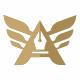 A Letter Wings Logo