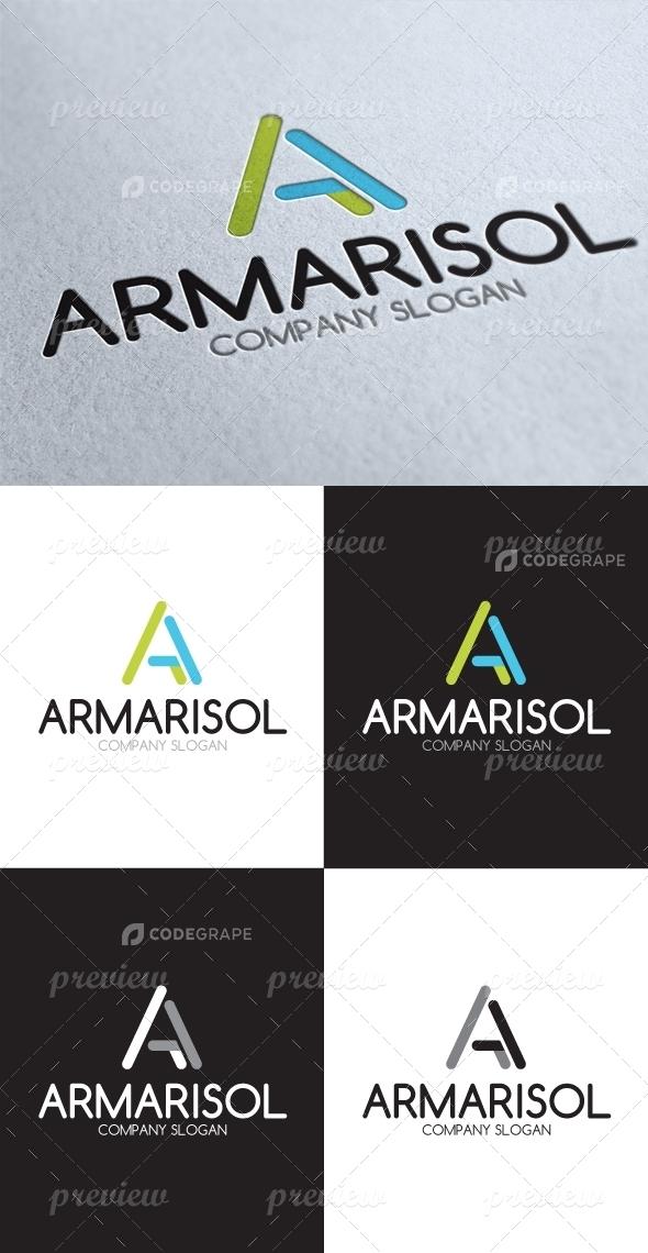 A Letter Logo 2