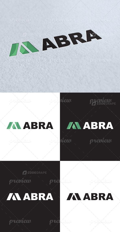 Abra A Letter Logo