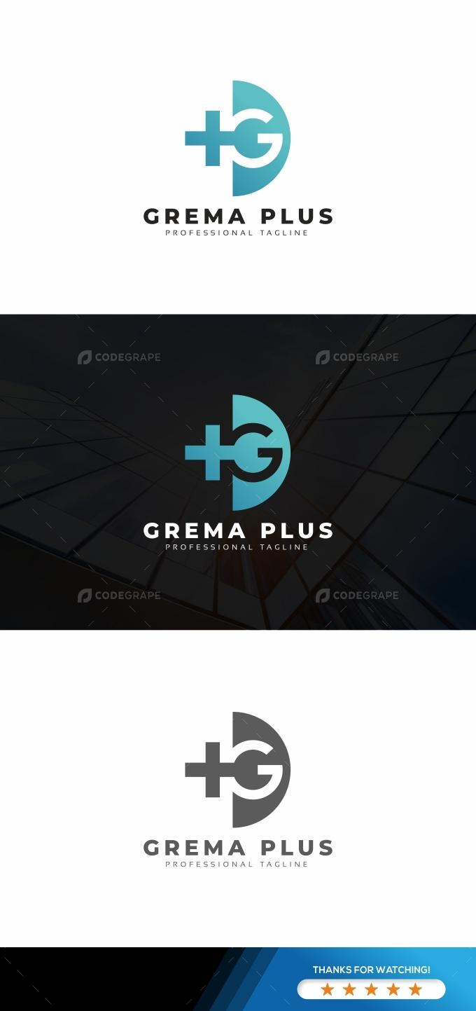 G Letter Plus Logo