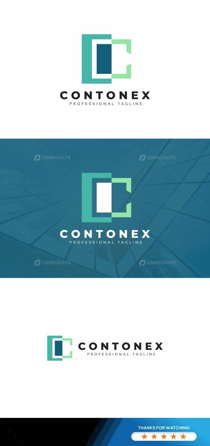 C Letter Contonex Logo