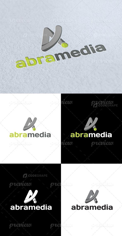 Abra Media A Letter Logo