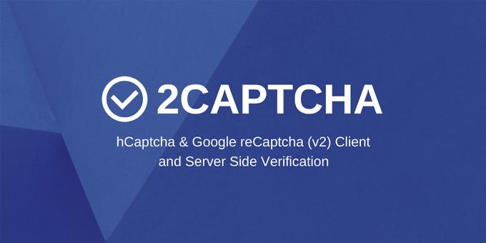 2Captcha - hCaptcha & Google reCaptcha