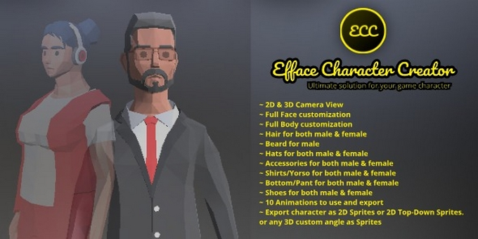 Efface Character Creator - Ultimate Solution For Your Game Character