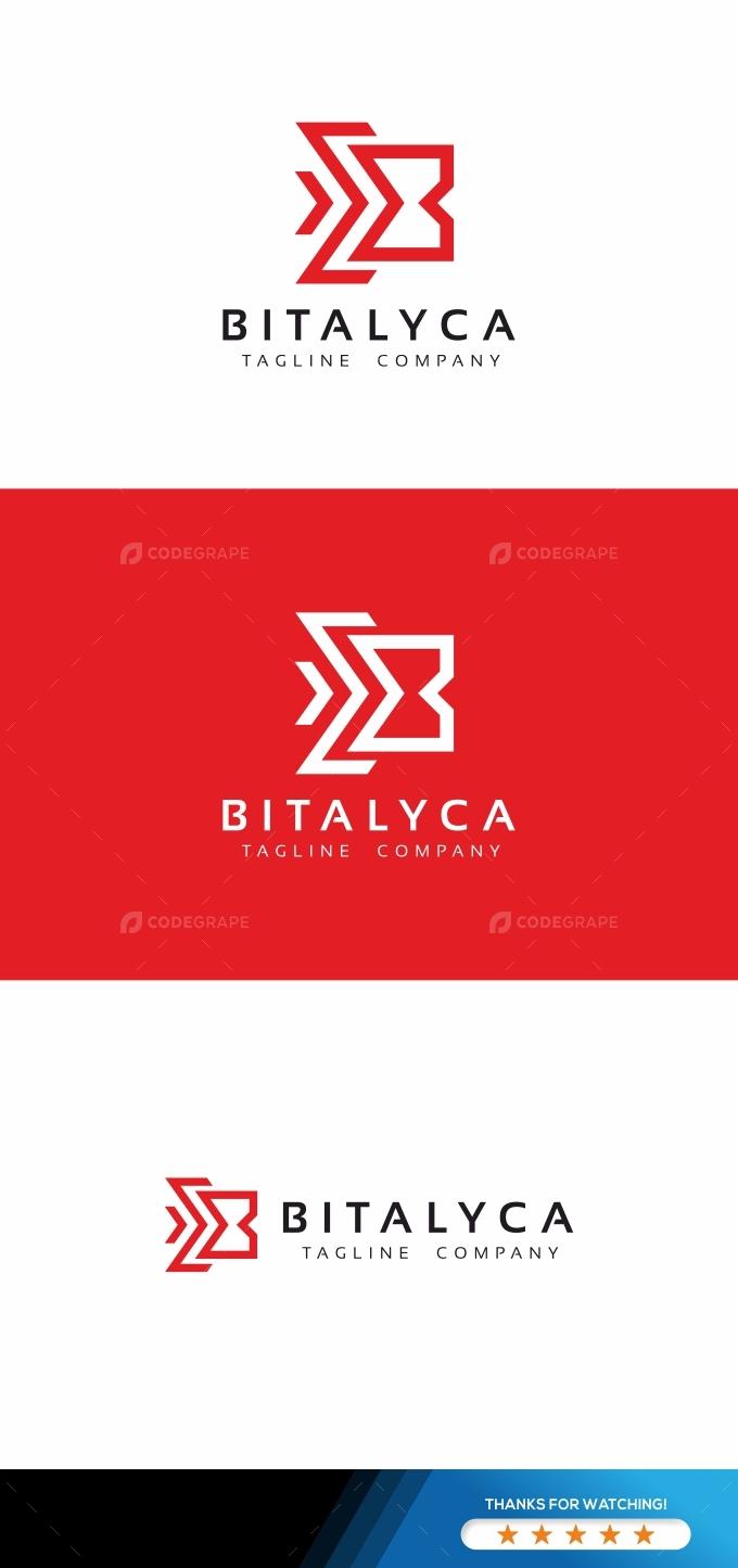 Bitalyca B Letter Logo