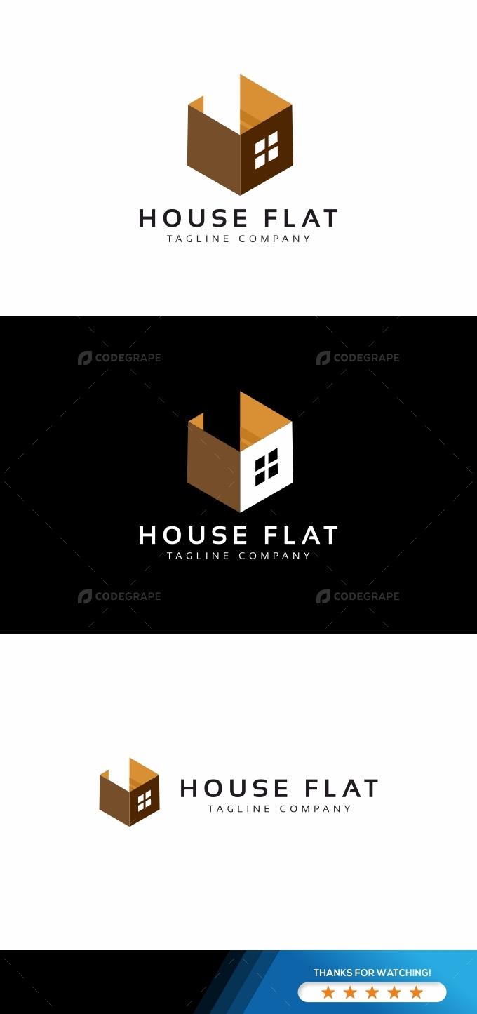 House Flat Logo