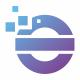 O Letter Pixel Logo
