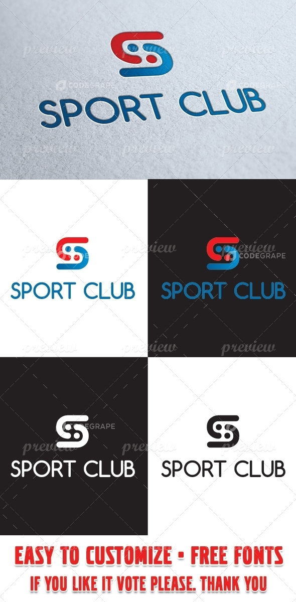 Sport Club Logo Template