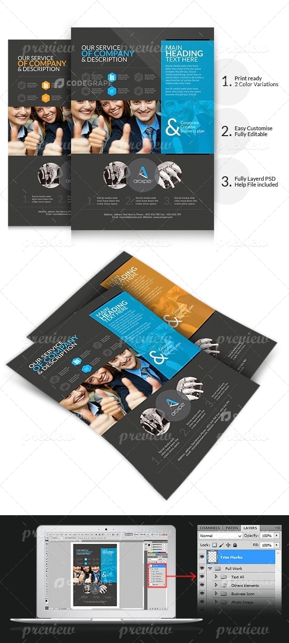 Aroxper - Corporate Business Flyers/Adds