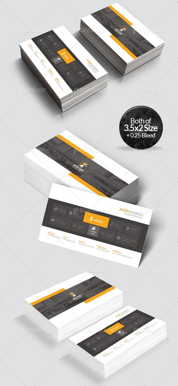 Xtrim - Corporate Business Card