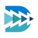D Letter Arrows Logo