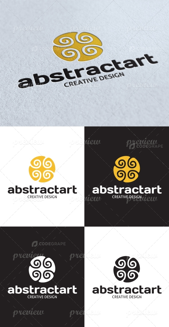 Abstract Art Logo