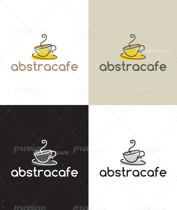 Abstract Coffee Logo