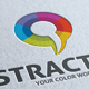 Abstract Color Chat Logo