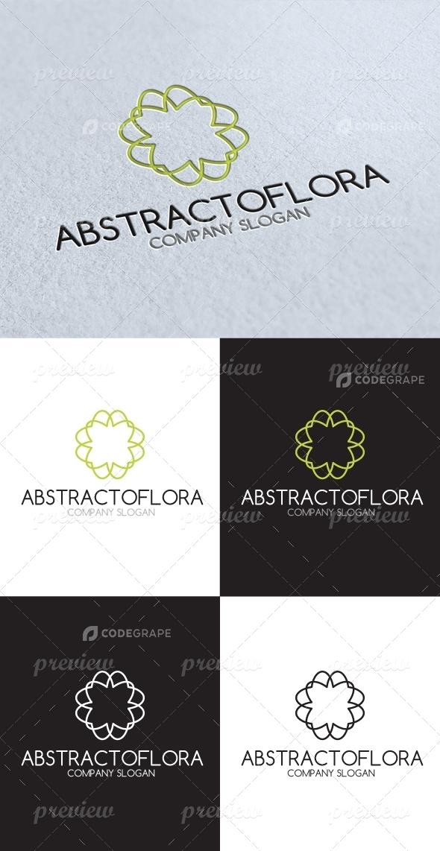 Abstract Flora Logo