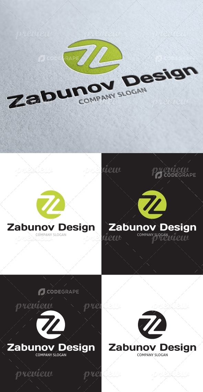Zabunov Design Z Letter Logo