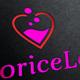 Iicorice Love Logo Template