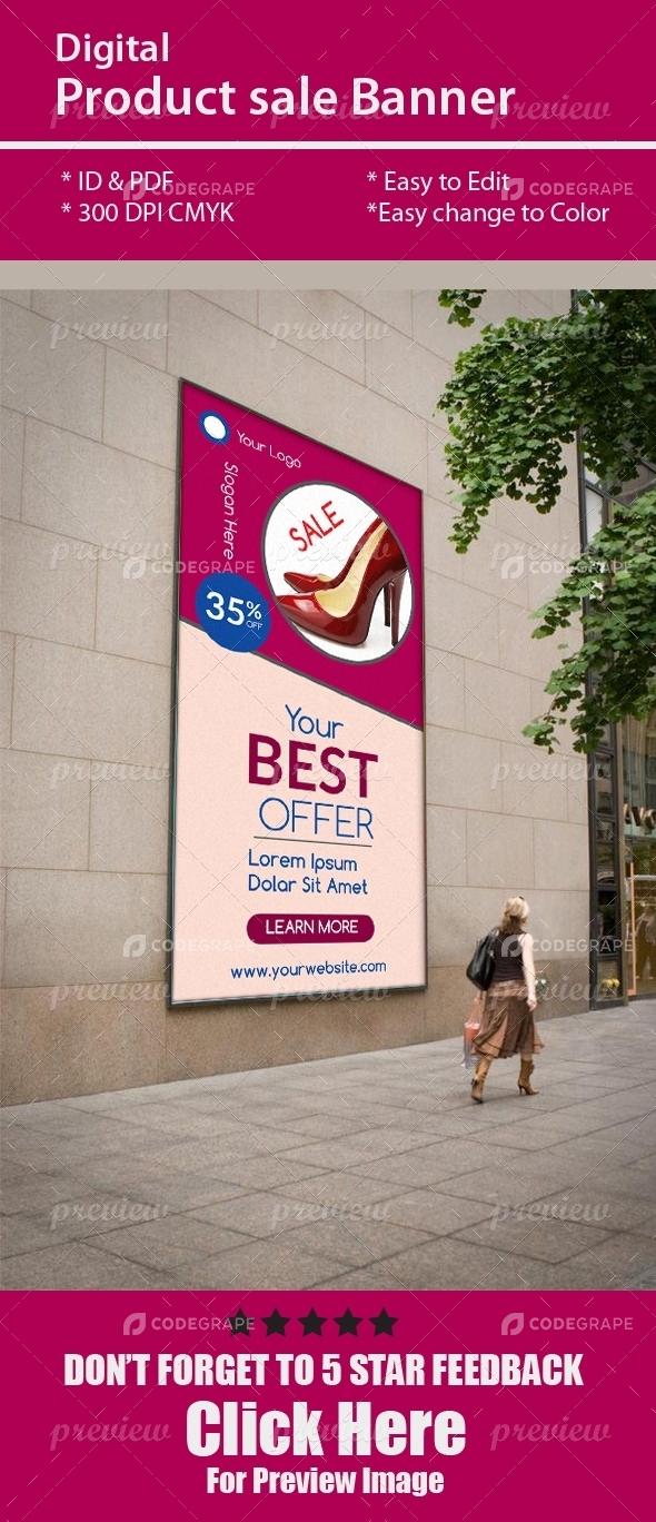 Digital Product Sale Banner