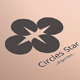 Circles Star Logo Template