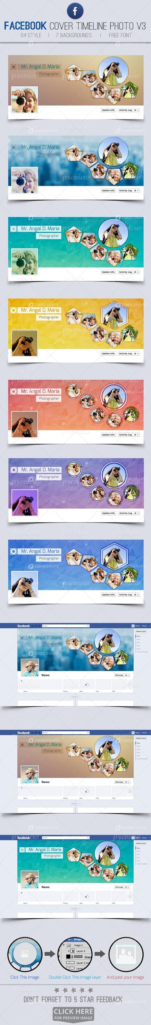 Facebook Timeline Cover Pack